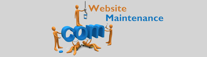Website Maintenance service with an HTML Editor